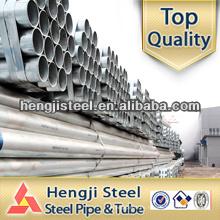 Tubo de acero galvanizado erw para la construcción de invernadero