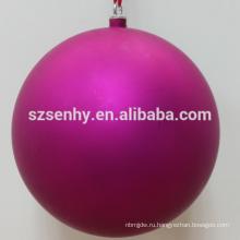 горячий продавать футбол футбольный мяч форма пластиковые Рождественский бал