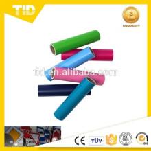 Láminas reflectantes de colores, película de superficie de PET, ASTM D4956,3100