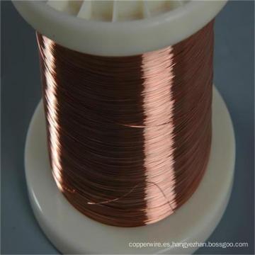 Alambre de aluminio revestido de cobre del CCA del cable eléctrico de 0.10mm-6.00mm