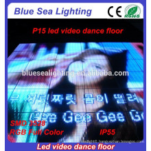 Good prices buy disco used panels light up led video portable dance floor