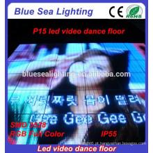 Bons preços comprar discos usados painéis de luz levaram vídeo pista de dança portátil