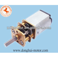 1.5V dc door motor with gearbox for door lock