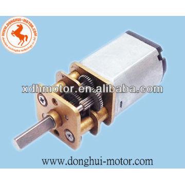 1.5V dc door motor with gearbox for door lock