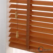 Cortina enrollable veneciana de madera para el cuarto de baño de la cocina