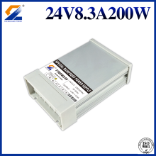 Rainproof LED Switching Power Supply 24V 200W
