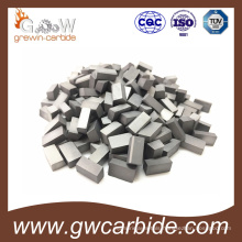 Metal Working Tungsten Carbide Brazed Inserts Carbide Brazed Tips
