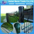 Grillage jumelé enduit par PVC de haute qualité / barrière de fil de 868 et de 656 à vendre