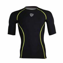 Mma grappling rash guarda ufc esportes t-shirt do encaixotamento (jap065)