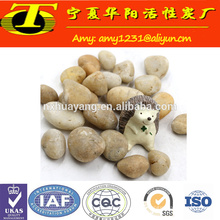 Wholesale cheap price white gravel for driveway and aquarium