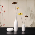 Белая керамика ваза для украшения дома