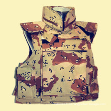 NIJ Iiia UHMWPE a prueba de balas chaleco para los usuarios del ejército