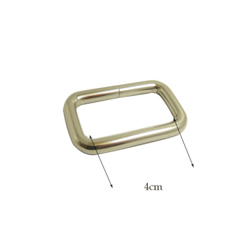 Promotional Rectangle Silver Metal Buckle for Bags