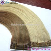 Горячий Продавать Двойная Нарисованная Очень Толстого Реми Человеческих Волос Блондинка Цвет