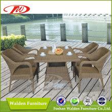 Gartenmöbel Wicker Dining Set (DH-6062)