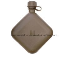 Militar 2qt botella de agua de buena calidad