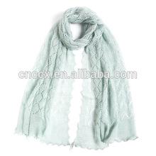 PK17ST341 écharpe en lin tricoté