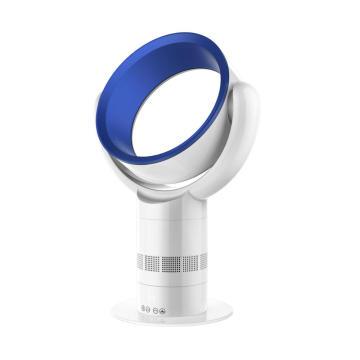Ventilador sin cuchilla de la mesa de enfriamiento por aire de 12 pulgadas, ventilador de hoja oculta, ventilador de ABS