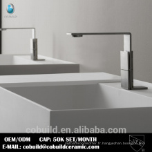 Robinet de lavabo CUPC en acier inoxydable 304 #