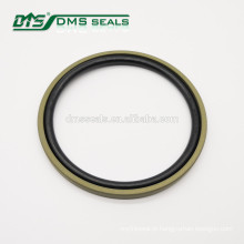 vedação hidráulica de PTFE com enchimento de bronze vedação de cilindro de anel de glicol GSF