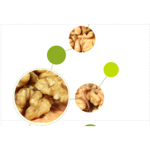 Do baking with fresh raw walnuts