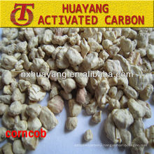 F24 corn cob abrasive for diamond polishing