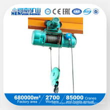 Wirerope Electric Hoist (modelo CD, MD)