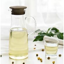 Grand pot d'eau potable froid clair de Borosilicate Glas