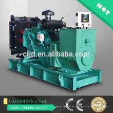 Generadores de energía DCEC 100kw, generadores diesel 125kva con motor Cummins 125kva generador eléctrico