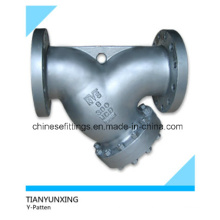 A216wcb Cast Carbon Steel Flange Y Type Strainers