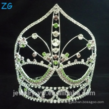Colored Rhinestone Crystal Crown Tiara Exquisite Crystal Tiaras