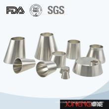Raccords de tuyaux de réducteur soudés hygiéniques en acier inoxydable (JN-FT3007)