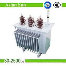 Transformador fabricante precio transformador inmerso en aceite de 11kv de 630kVA