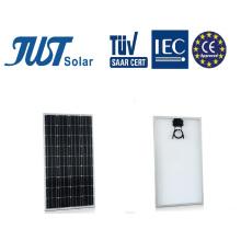 Módulo solar fotovoltaico de 100 vatios con 25 años de garantía