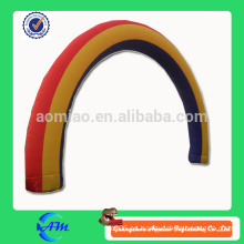 Arcada inflable del arco iris barato para la venta arco inflable de la boda