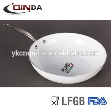 Die wok antiadhésif en céramique moulé sous pression avec un prix raisonnable