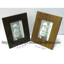 Marco de madera de la foto del laser para la decoración casera