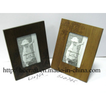 Cadre photo en bois pour décoration intérieure