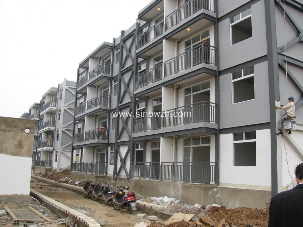 High-rising Light Steel Frame Appartment Building