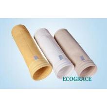 0.5mm - 4mm Dust Filter Bag , Non Woven Filter Bag High Eff