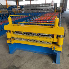 Double layers profiles roller forming machine