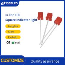 Square led lamp beads led two-color indicator light