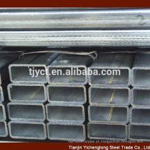 tubo redondo / quadrado / retangular galvanizado