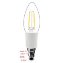 Bulbo do diodo emissor de luz do filamento de Dimmable de Kingliming 2 anos de garantia