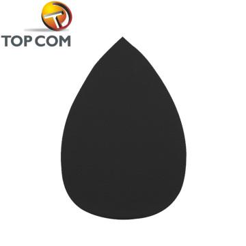 Черная капля из микрофибры натуральная косметическая губка