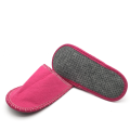 Family soft sole indoor hotel bath felt slippers