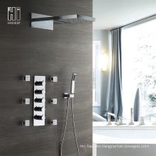 Modern Bathroom Faucets Brass Shower Faucet Set