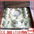 P&T 2015 new product bone china tea set coffee set wedding party