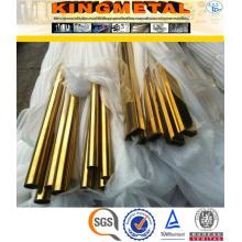 ASME Sb338 Gr2 Nahtlose Titan Vierkantrohr 80X80mm