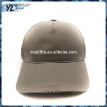 El 5panel en blanco de encargo de moda llevó la gorra de béisbol